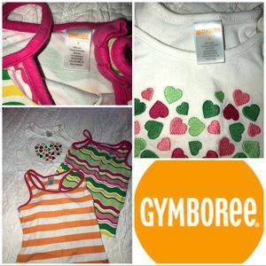 Bundle of 3 Gymboree tanks